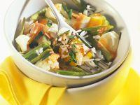 Rice and Vegetable Casserole (Römertopf) recipe
