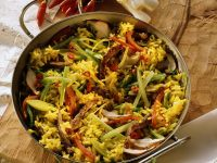 Rice and Vegetable Skillet with Beef recipe