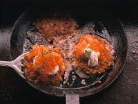 Rice Blinis with Smoked Salmon and Caviar recipe