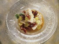Rice Dumplings with Compote recipe