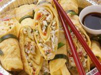 Rice-filled Pancake Rolls recipe