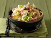 Rice Noodles with Turkey Breast recipe