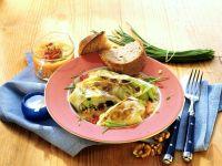 Rice, Nut and Fruit Stuffed Cabbage Rolls recipe