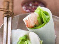 Rice Paper Rolls with Shrimp recipe