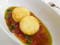 Sticky Rice Patties with Salsa recipe
