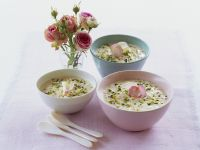 Rice Pudding Morrocan-style with Pistachios recipe