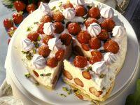 Rice Pudding Strawberry Pie recipe