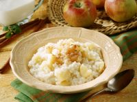 Rice Pudding with Apple recipe