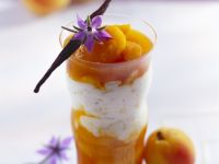 Rice Pudding with Apricot Compote recipe