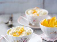 Rice Pudding with Oranges recipe