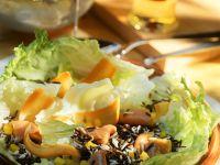 Rice Salad with Smoked Salmon recipe