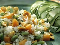 Rice with Beans and Squash recipe