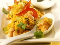 Rice with Cabbage and Chickpeas recipe
