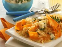 Rice with Carrots and Cheese recipe