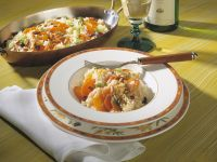 Rice with Carrots, Pine Nuts and Raisins recipe