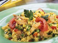 Rice with Chicken and Zucchini recipe