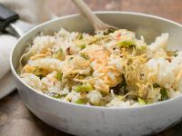 Cod Fried Rice recipe