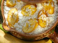 Rice with Fried Plantain recipe