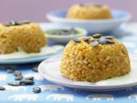 Rice with Peas and Cheese recipe