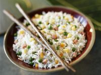Rice with Peas and Corn recipe