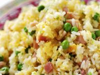 Rice with Peas and Ham recipe