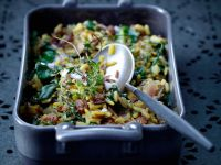 Rice with Spinach and Raisins recipe