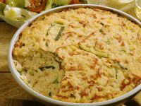 Rice, Zucchini and Ham Casserole recipe