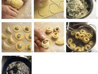 Ricotta and Herb Tortellini recipe