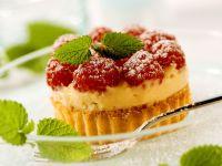 Ricotta and Raspberry Tart recipe