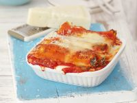 Ricotta and Rocket Pasta Tubes recipe