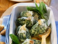 Ricotta and Spinach Dumpling Gratin recipe