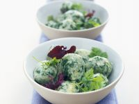 Ricotta and Spinach Dumplings recipe