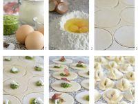 Ricotta Herb Tortellini recipe