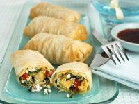 Ricotta Spring Rolls recipe