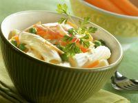 Rigatoni with Ham and Peas recipe