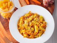 Rigatoni with Vegetables recipe