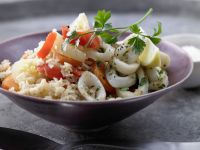 Risotto with Calamari recipe