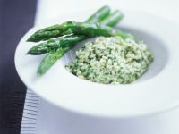 Risotto with Green Asparagus recipe
