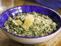 Risotto with Spinach recipe