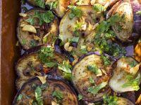 Roast Aubergine Slices recipe