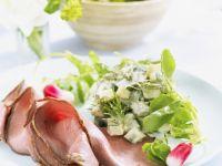 Roast Beef and Radish Salad recipe