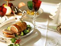 Roast Beef and Turkey Roulade with Broccoli recipe
