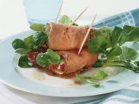 Roast Beef Roll-up Salad recipe