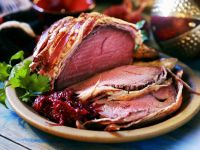 Roast Beef with Bacon recipe