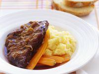 Roast Beef with Onions recipe