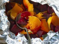 Roast Beets, Squash and Orange