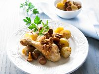 Roast Chicken Pieces with Vegetables recipe