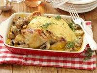Roast Chicken with Cheese recipe