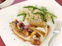 Roast Chicken with Fruity Sauce recipe