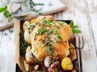 Roast Chicken with Herbs, Garlic and Lemon recipe